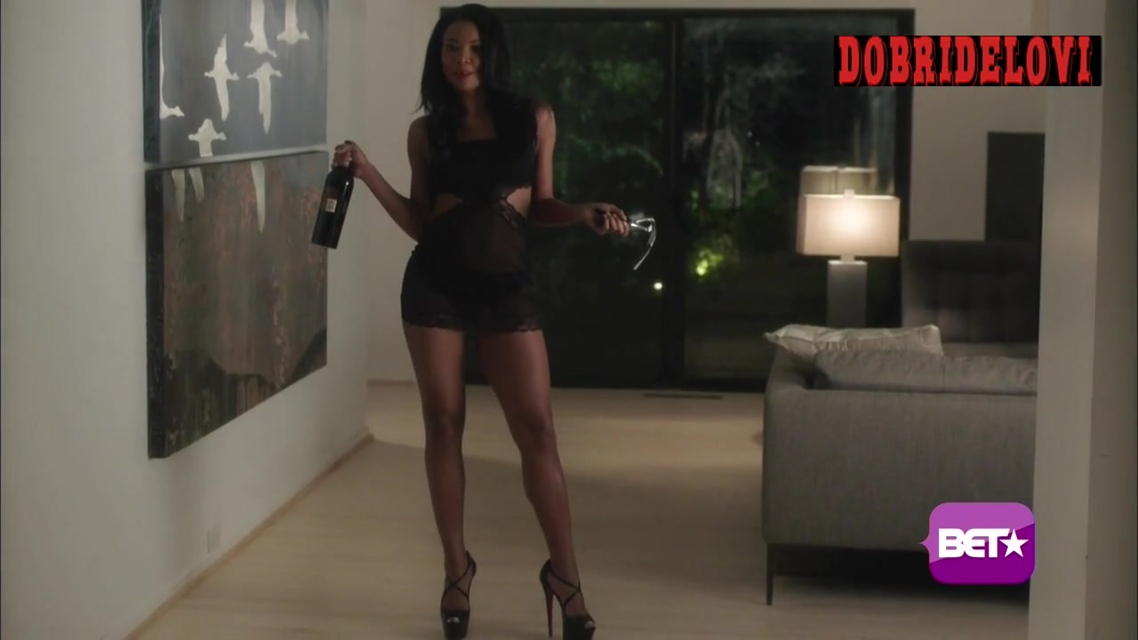 Watch Gabrielle Union greeting man getting home scene from Being Mary Jane video