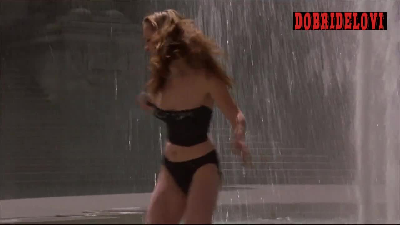 Christina Ricci sexy fountain scene from Prozac Nation