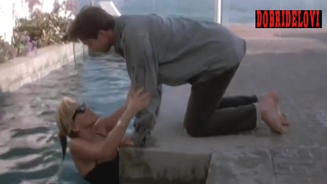 Sharon Stone bathing suit scene from Where Sleeping Dogs Lie