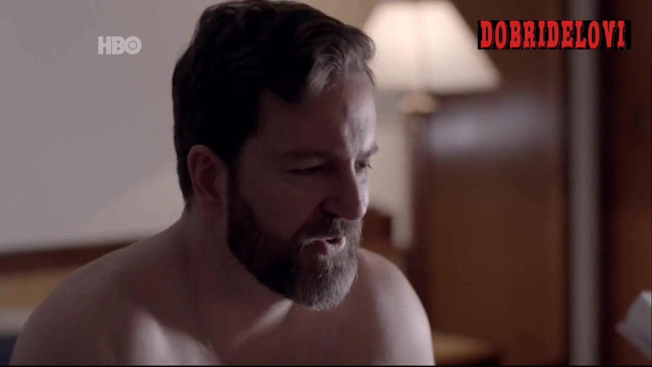 Watch Aline Jones blowjob scene from O Negócio video