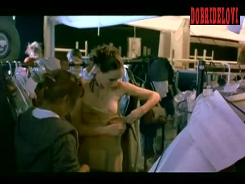 Jessica Alba nip slip scene from Paranoid