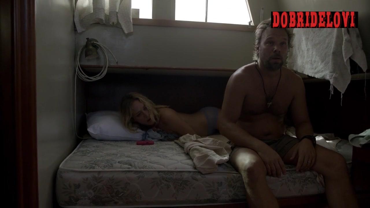 Chloë Sevigny waking up in boat scene from Bloodline