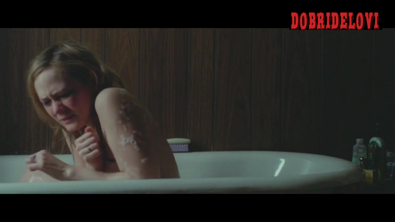 Louisa Krausegetting out of bathtub scene from Bluebird