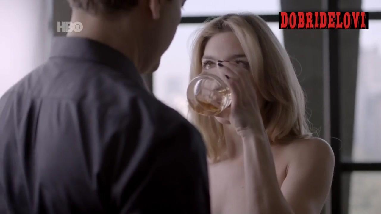 Juliana Schalch seductive scene from O Negócio