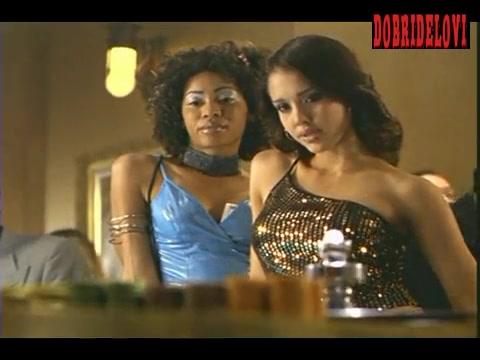 Jessica Alba casino scene from Dark Angel