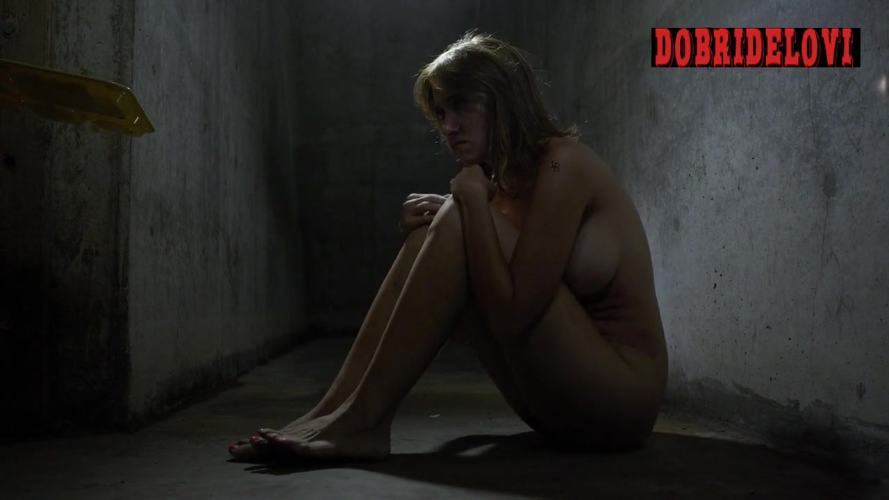 Sara Malakul Lane nude in solitary confinement scene from Jailbait