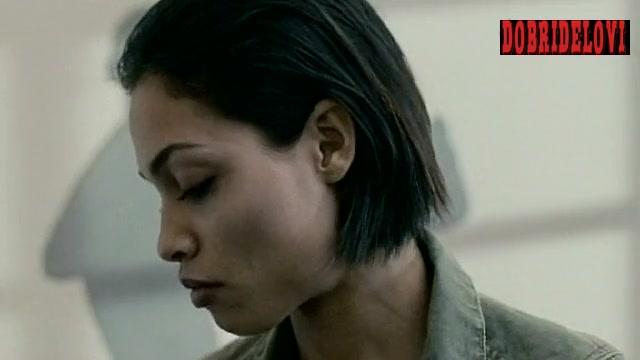 Rosario Dawson flashback scene from Descent