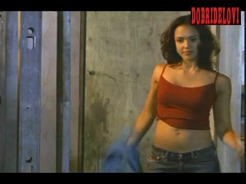 Jessica Alba sexy pokies scene from Dark Angel