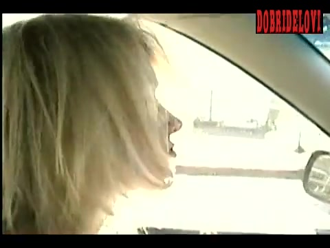 Naomi Watts changing clothes while driving scene from Ellie Parker