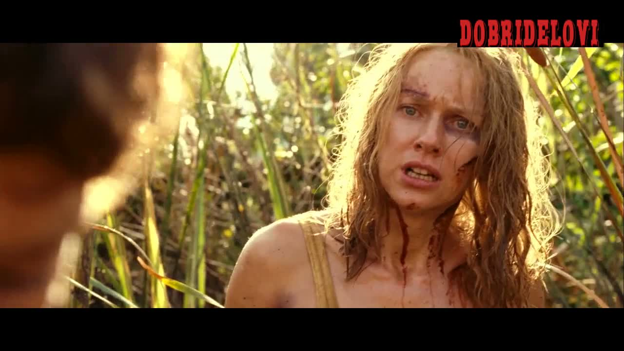 Naomi Watts breast hanging out scene from The Impossible