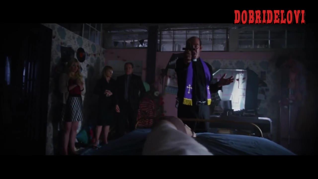 Louisa Krause exorcism scene from Ava's Possessions