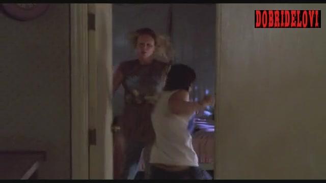 Christina Ricci side boob scene from Monster