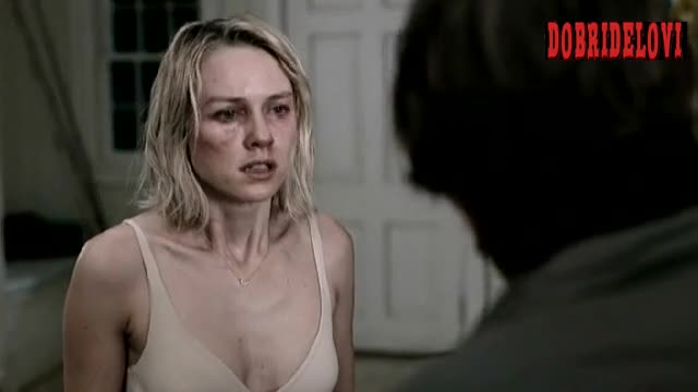 Naomi Watts putting on clothes scene from Funny Games