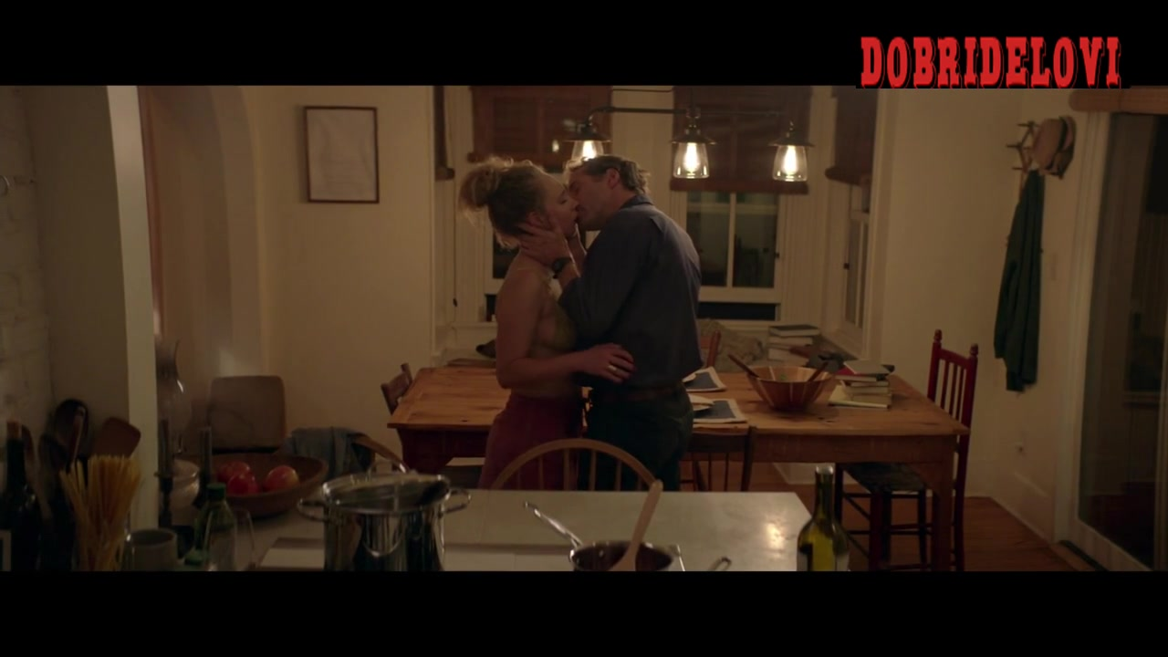 Juno Temple taking off shirt scene from One Percent More Humid