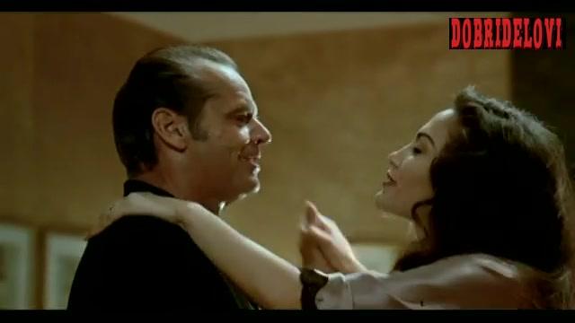 Jennifer Lopez dancing with Jack Nicholson scene from Blood & Wine