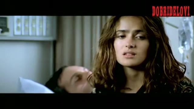 Salma Hayek flashbacks laundry room sex scene from The Velocity of Gary