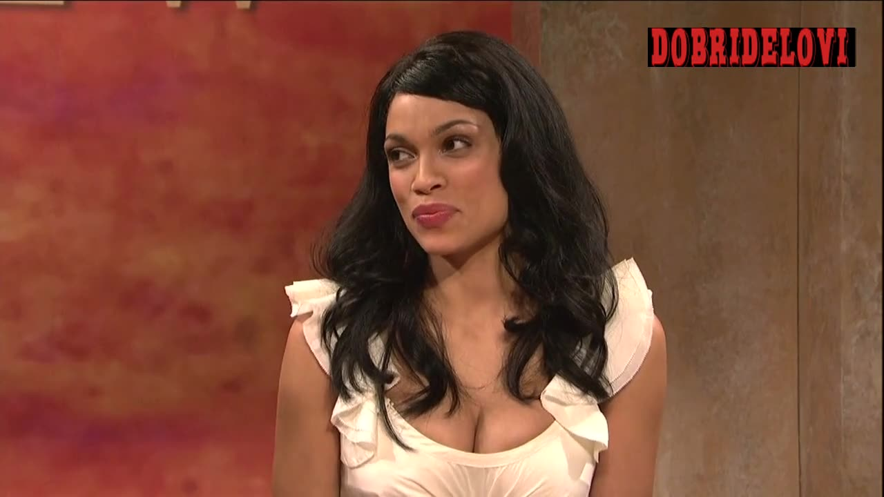 Rosario Dawson The View parody scene from Saturday Night Live