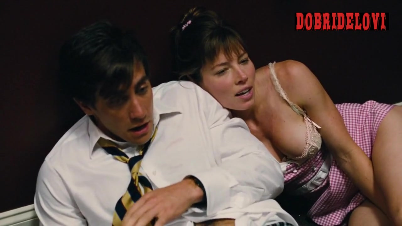 Jessica Biel post coital scene with Jake Gyllenhaal - Accidental Love
