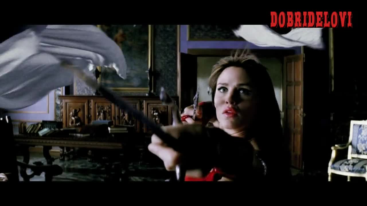 Watch Jennifer Garner red bodice scene from Elektra video