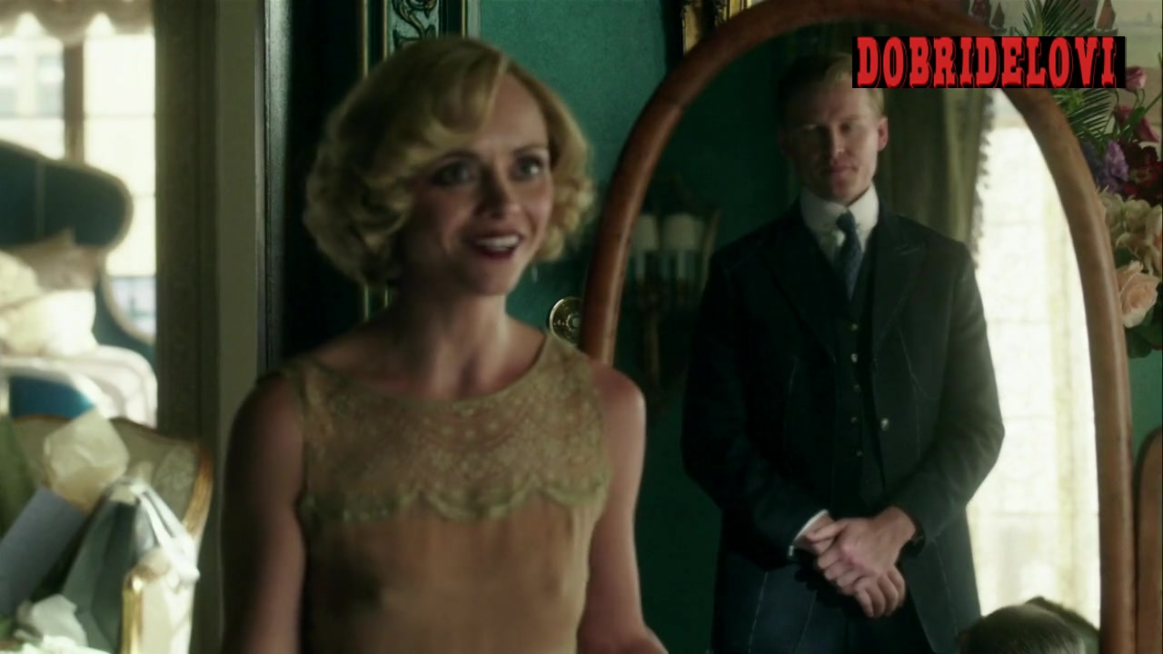 Christina Ricci pokies scene from Z: The Beginning of Everything