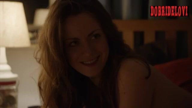 Alice Dwyer side boob scene from Ma Folie