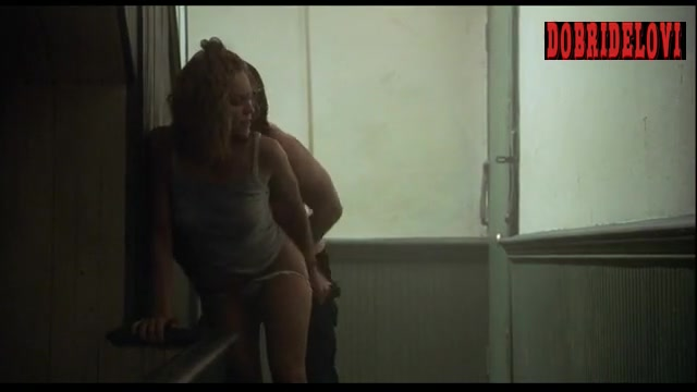 Diane Lane forced to strip and gets it from behind scene from Unfaithful