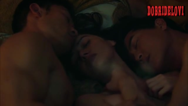 Sara Malakul Lane threesome scene from Shangri-La: Near Extinction