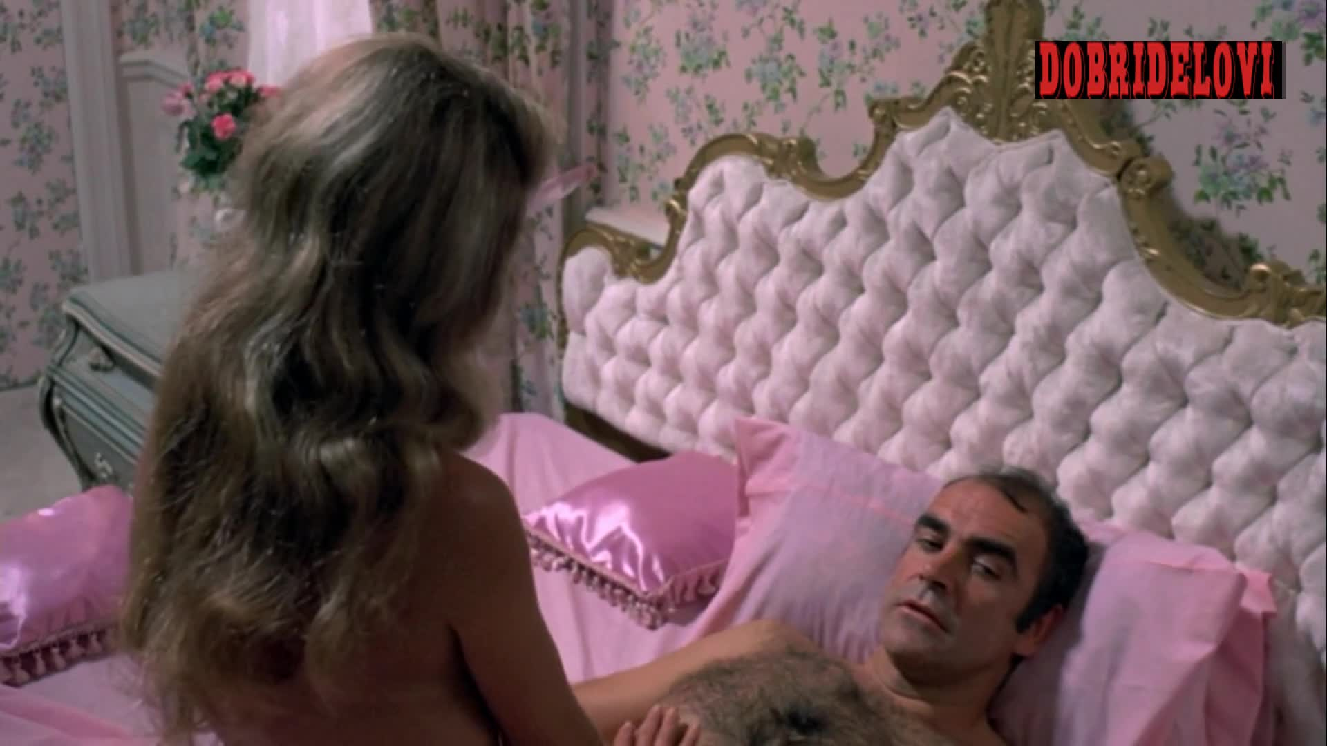 Dyan Cannon in bed with Sean Connery scene from The Anderson Tapes
