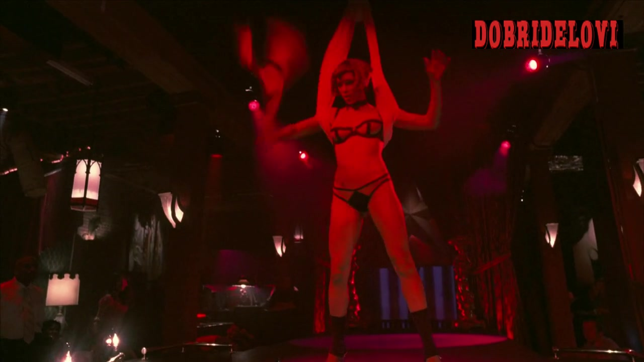 Jessica Biel stripper swinging scene from Powder Blue