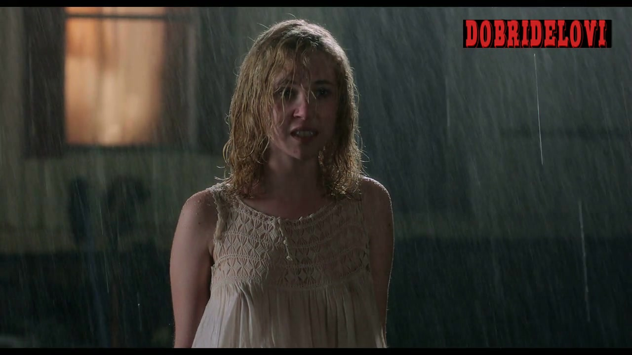 Juno Temple see-through in the rain scene from Killer Joe