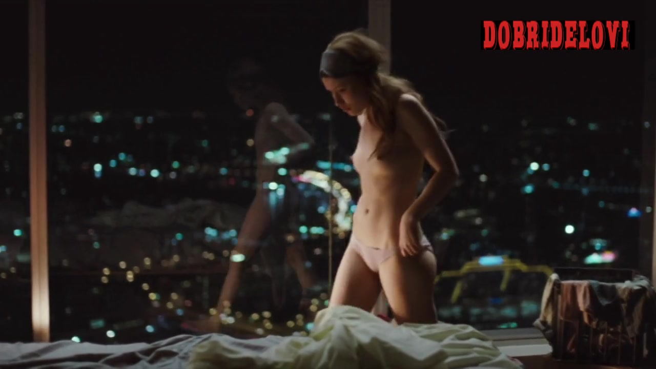Watch Emily Browning getting out of bed nude scene from Sleeping Beauty video