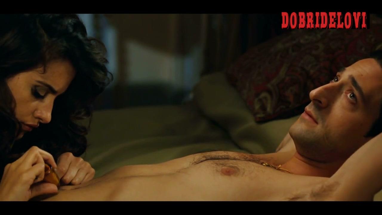Penélope Cruz sex with Adrien Brody scene from A Matador's Mistress