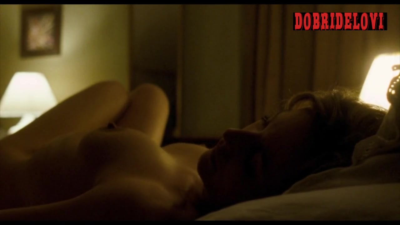 Gillian Anderson nude scene from Closure