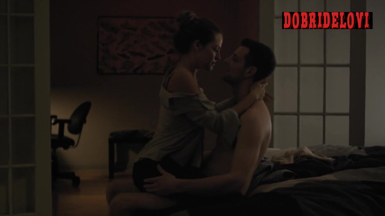 Riley Keough riding dude scene from The Girlfriend Experience