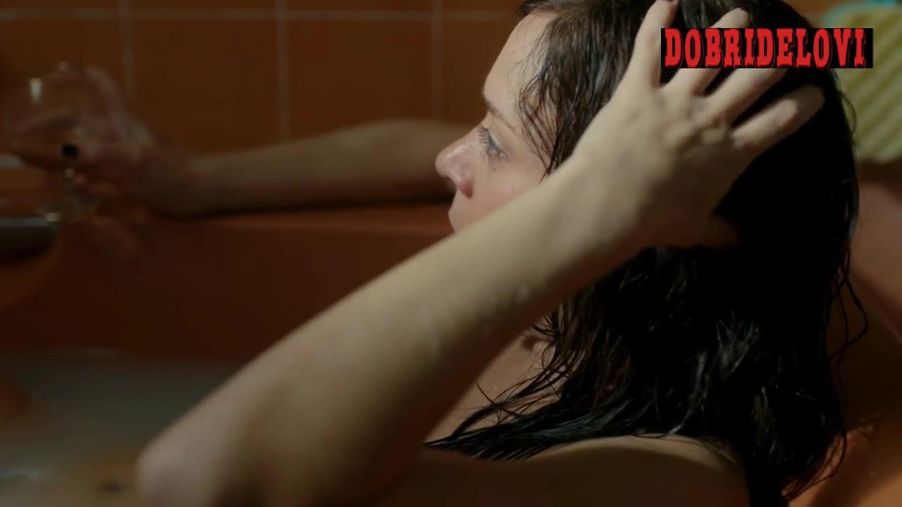 Chloë Sevigny bathtub scene from Hit & Miss