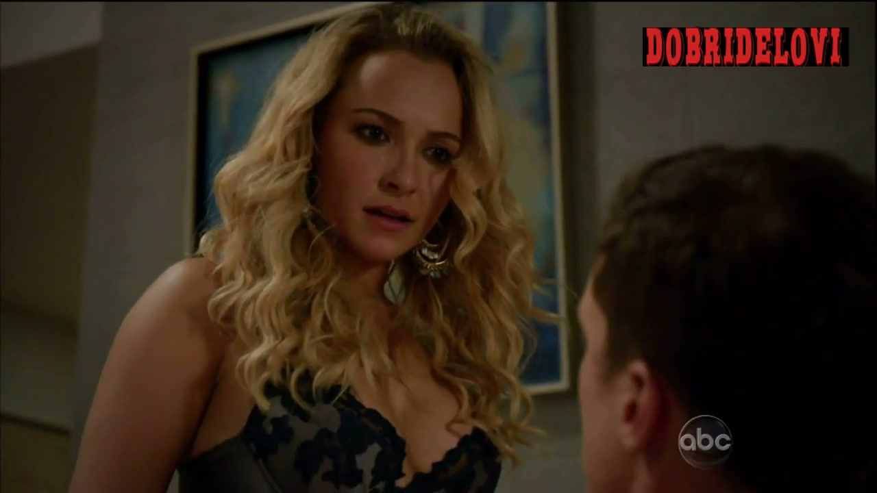 Watch Hayden Panettiere undressing scene from Nashville video