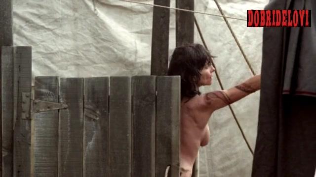 Adrienne Barbeau public shower scene from Carnivàle
