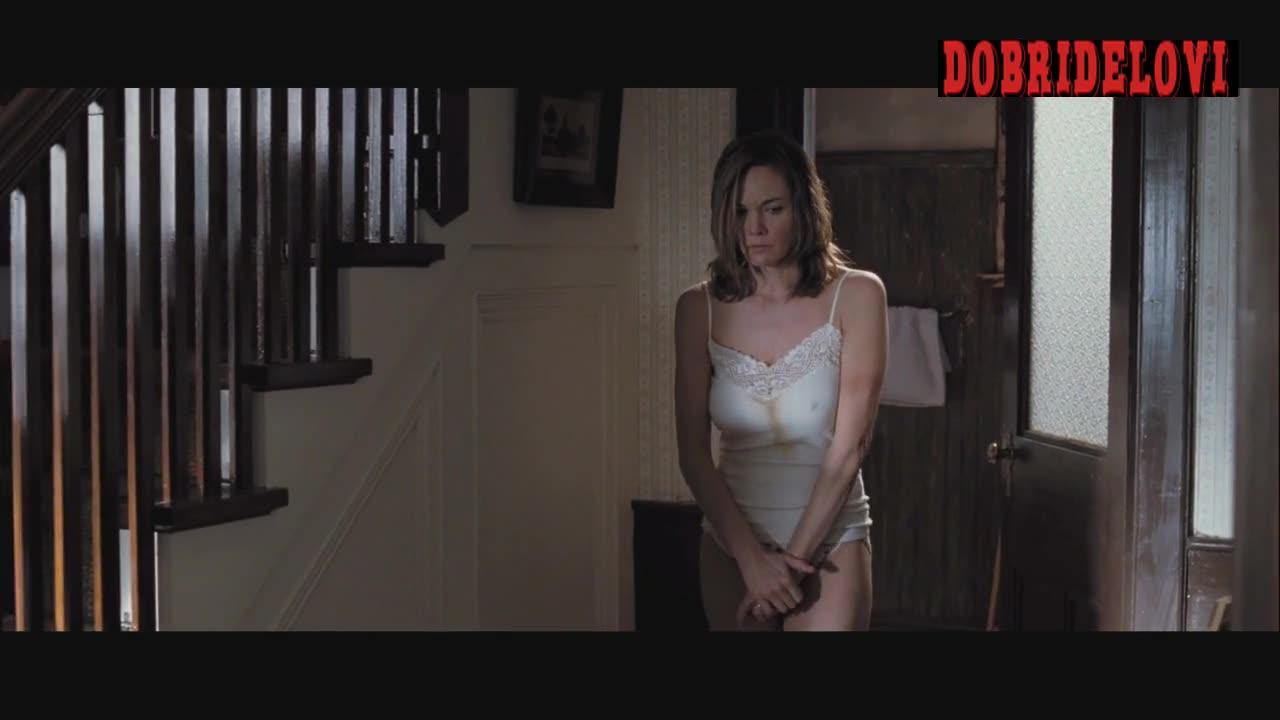 Diane Lane in white panties held at gun point scene from Killshot