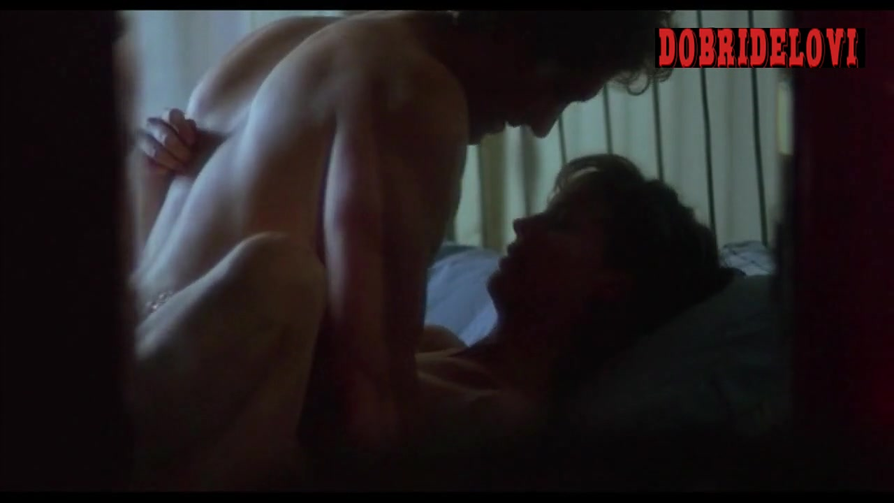 Jamie Lee Curtis missionary sex scene from Blue Steel