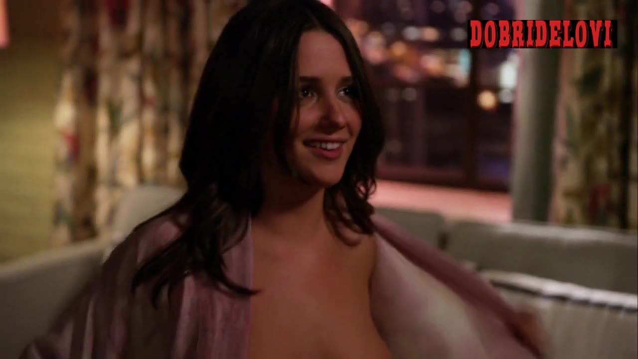 Addison Timlin changing shirt scene from Californication