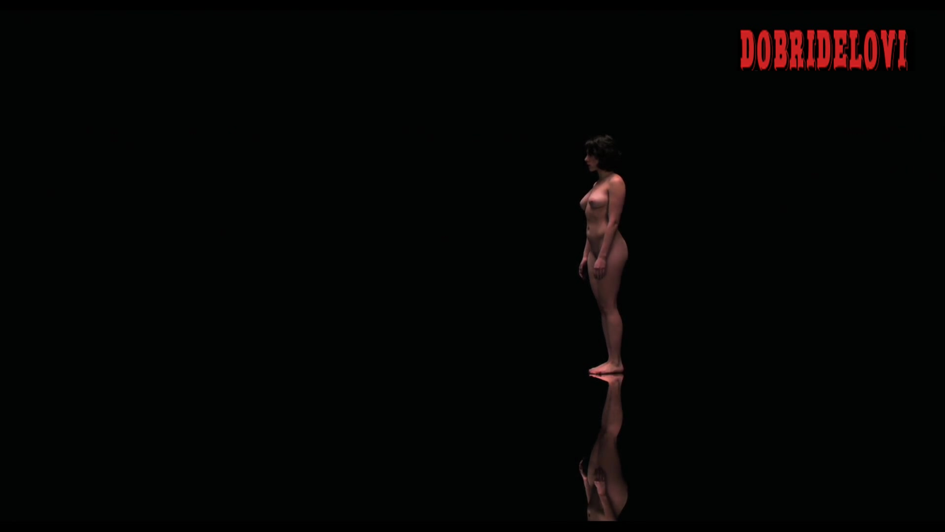 Scarlett Johansson seduces a deformed man -- Under the Skin
