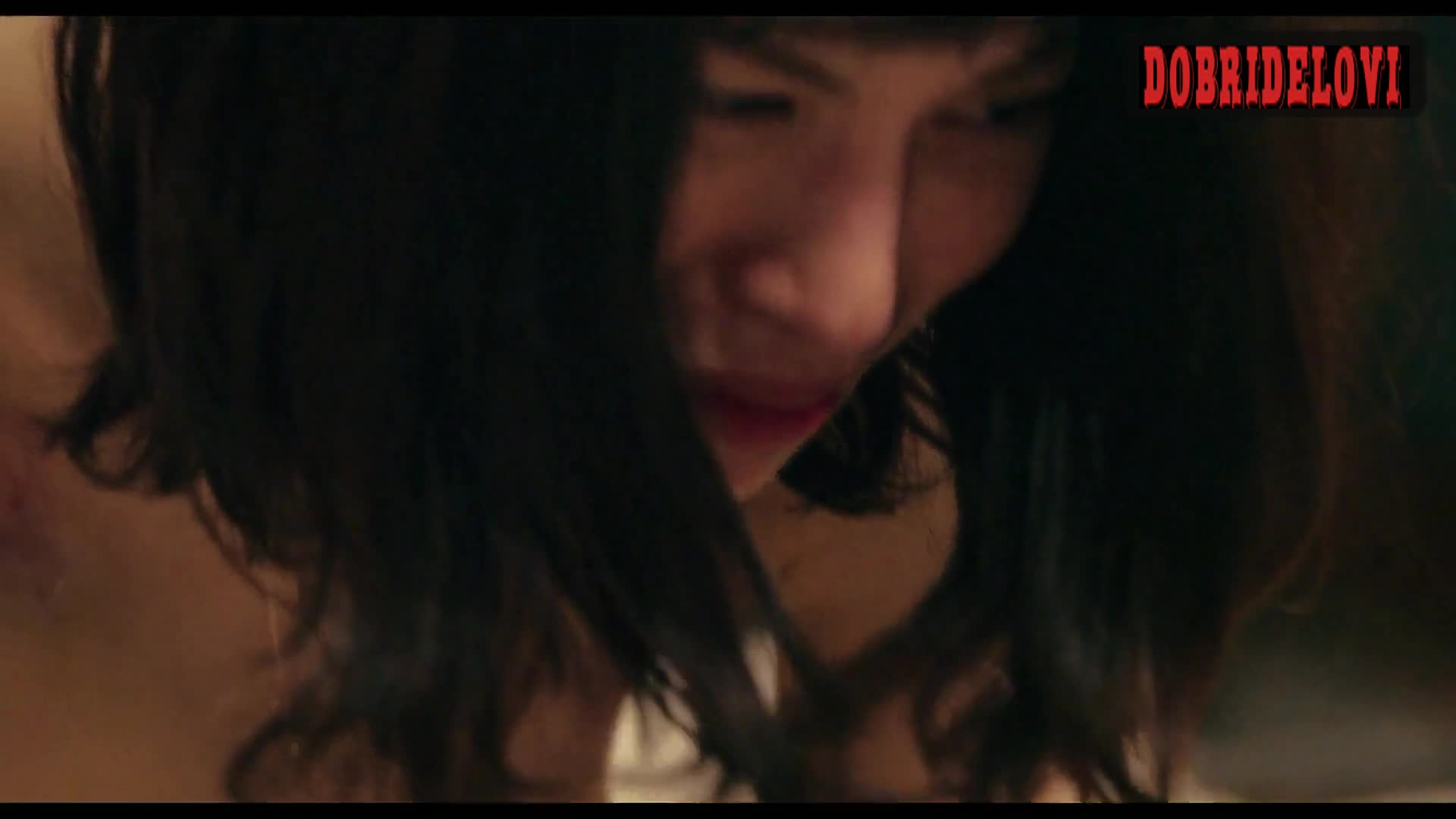 Honami Sato lays nude in bed scene from Ride or Die