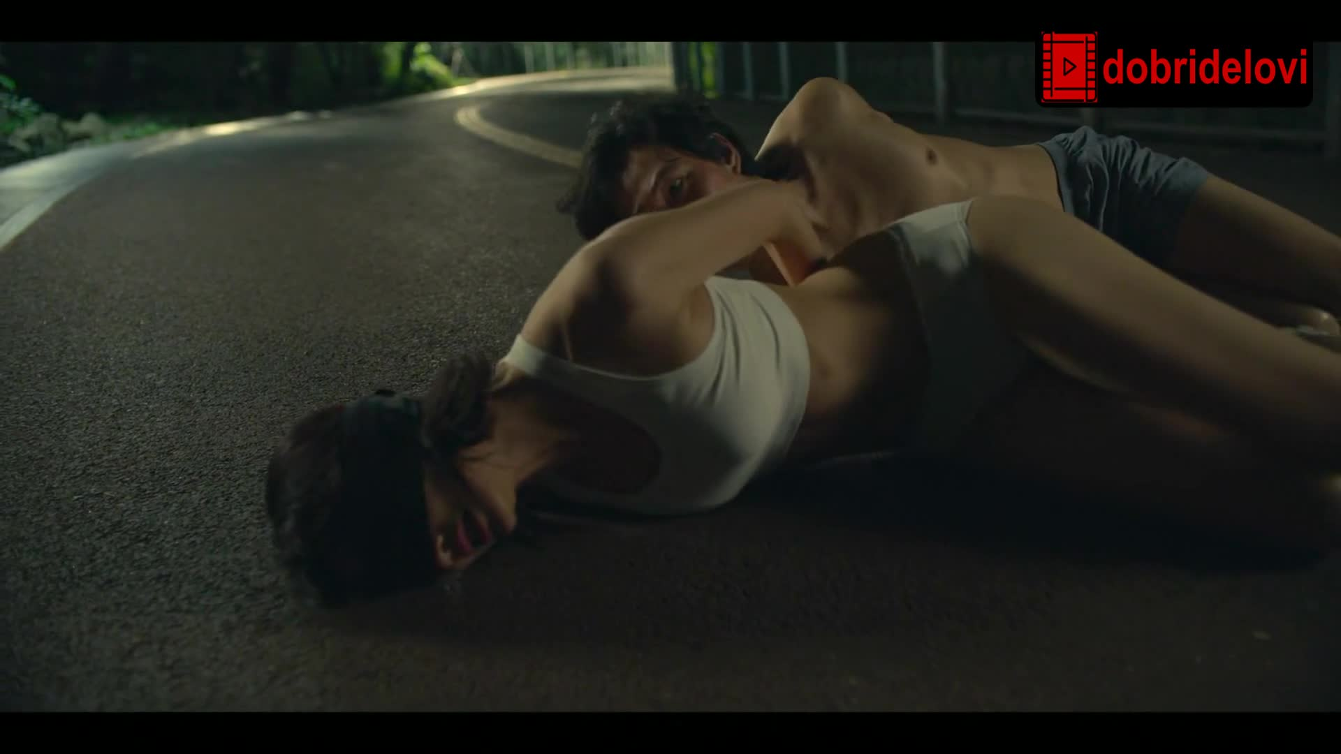 Jung Ho Yeon tied up in underwear scene from Squid Game