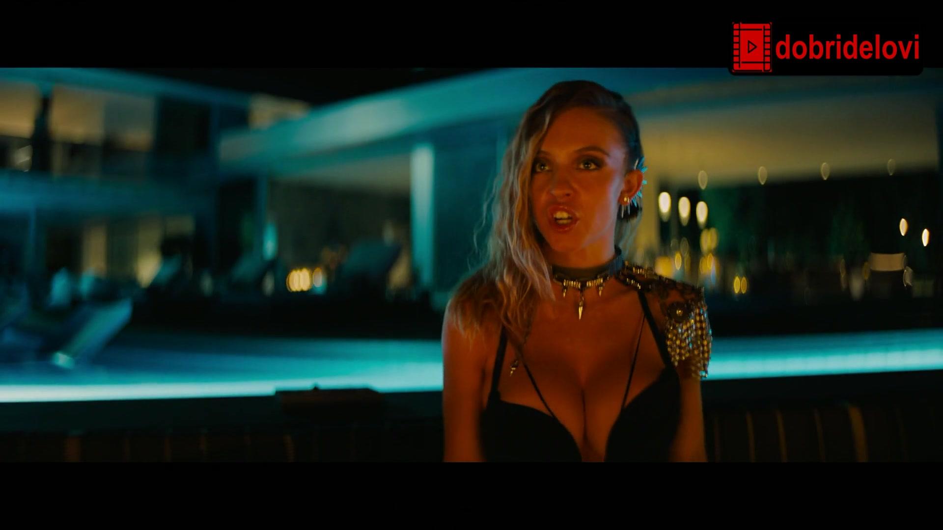 Megan Fox and Sydney Sweeney cleavage scene from Night Teeth