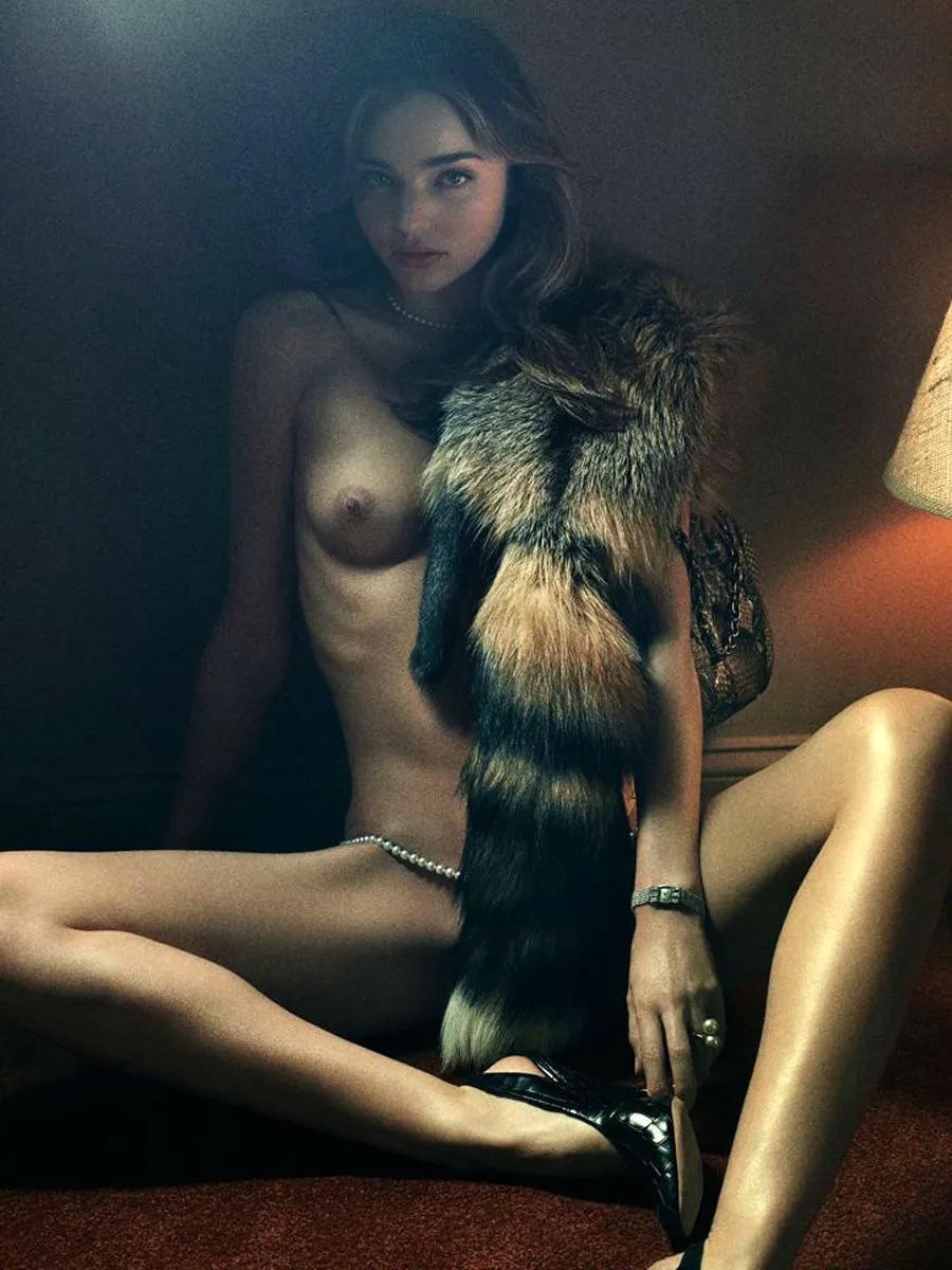 Miranda naked photo shoot