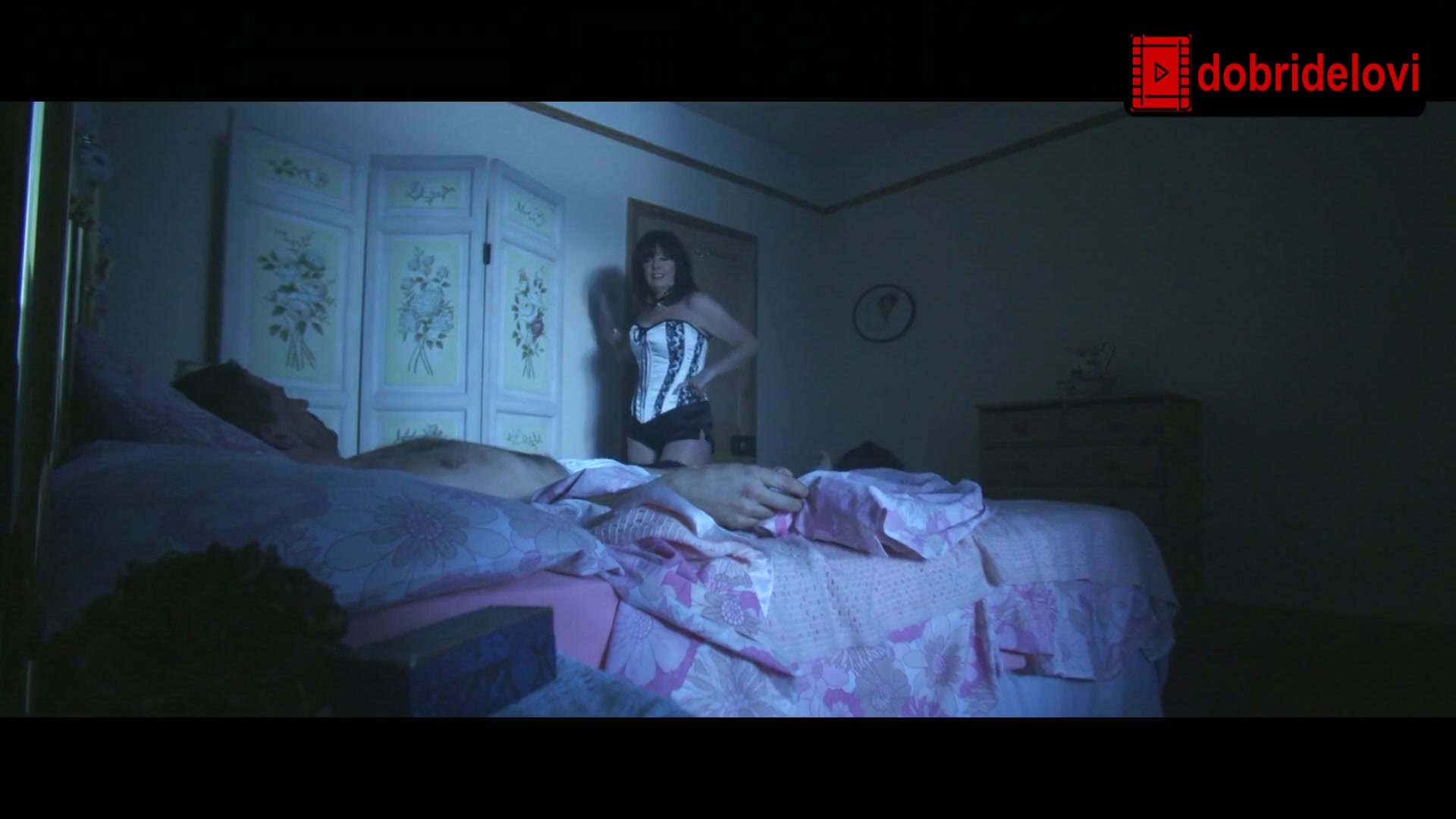 Watch Vicki Michelle undressing scene from Silent Hours video