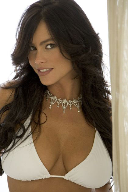 Sofia Vergara face shot