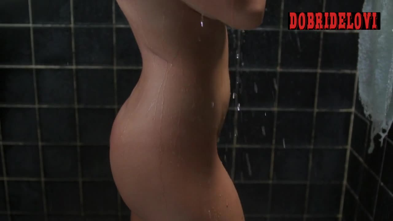 Paulina Gaitan shower scene in Diablo Guardian