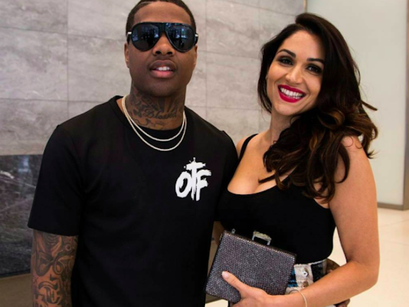 Lil Durk with Lela Loren