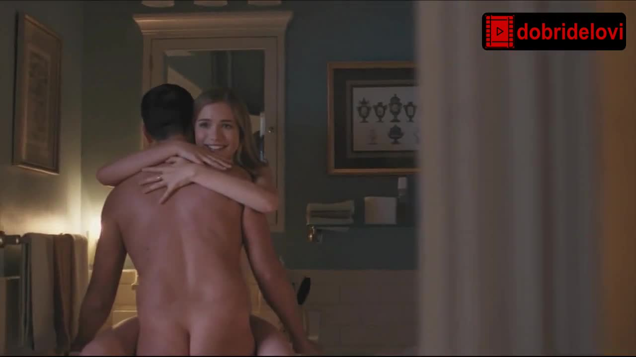 Willa Fitzgerald nude scene from Alpha House